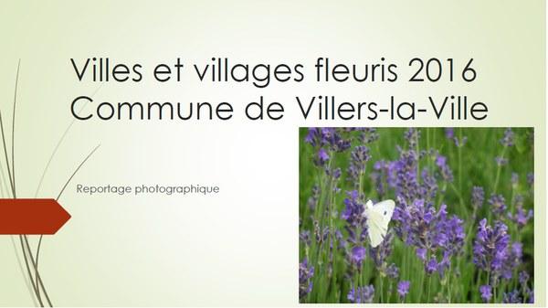 villes et villages fleuris 2016