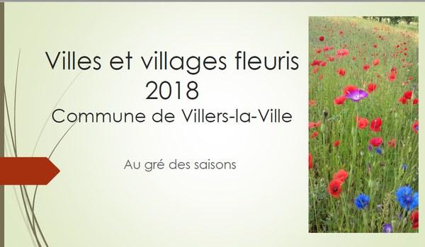 villes et villages fleuris 2018