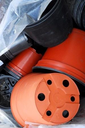 Pots pour le Parc à conteneurs