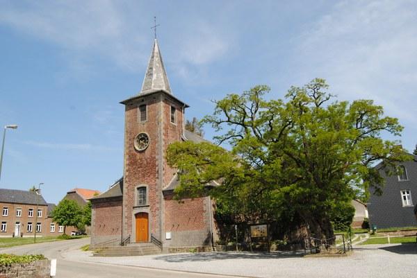 église de mellery